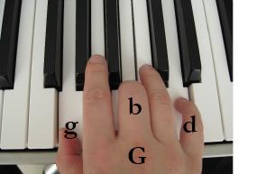 Klavierakkorde G
