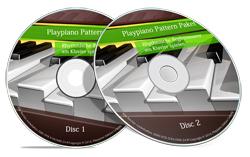 über 50 Patternvideos aus dem Playpiano-Pattern-Paket