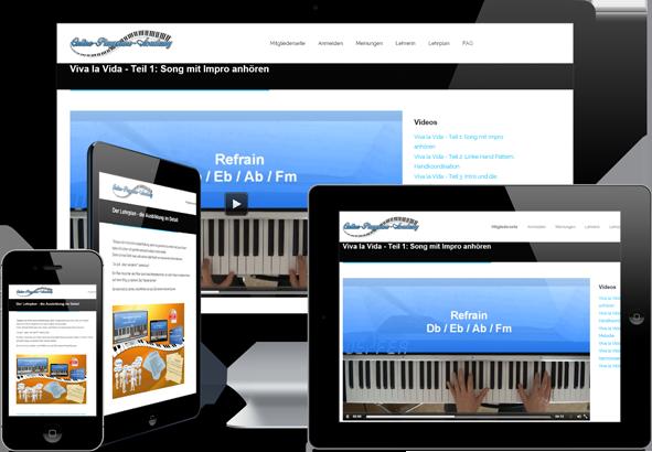 Klavier lernen - Mobile